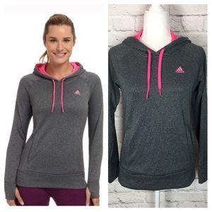 Adidas | Climawarm Ultimate Hoodie Gray/Pink